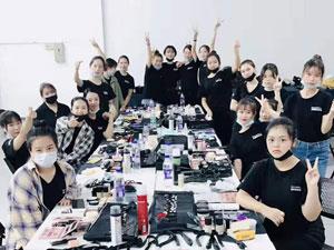 2019第二届狮山大学城模特大赛初赛跟妆活动